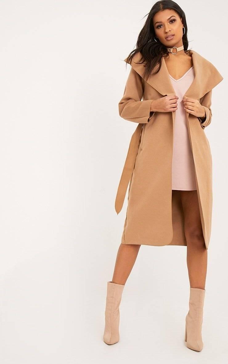معطف متوسط الطول-10