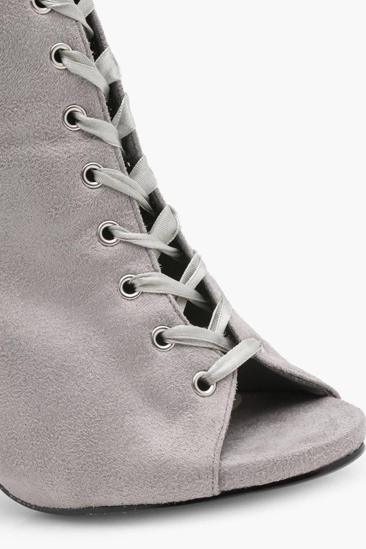 حذاء بوت كعب عالي -4