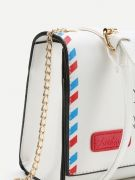 Bag shaped white envelope-2