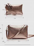 حقيبة كتف بمحفظة وحافظة -6