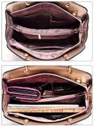 حقيبة كتف بمحفظة وحافظة -7