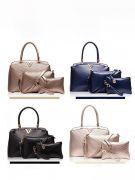 حقيبة كتف بمحفظة وحافظة -8