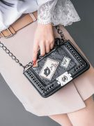 Small shoulder bag with chain-1