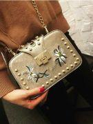 A white handbag-3