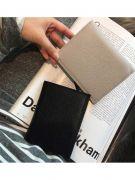 Black zipper purse for closure-3