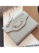 Black zipper purse for closure-1