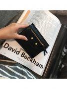 Black zipper purse for closure-7