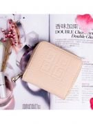 Pink purse with closure closure-4