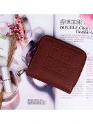 Pink purse with closure closure-5