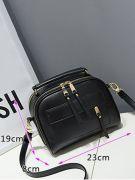 Shoulder bag with long hand-3