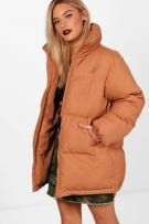 Jacket with padded collar-1