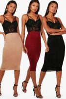 Medium-length tight skirt-2