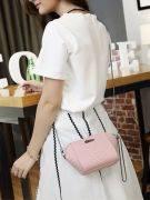 Crocodile leather handbag-2