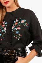 Shirt-shaped blouse-4