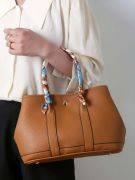 حقيبة يد نسائية بني-1