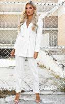 White blazer jacket-2
