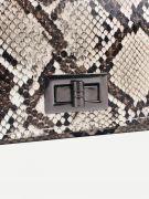Small snake skin bag-4