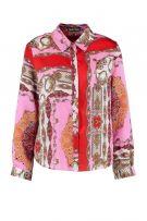 قميص ساتان مطبع وردي-3