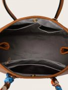 حقيبة يد نسائية بني-4