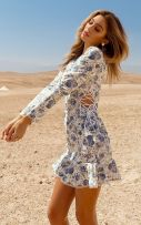 فستان بوديكون مشجر-4