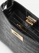 Snake leather bag-6