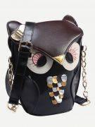 Black owl bag-2