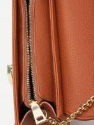 حقيبة كتف جلد بسلسلة-5