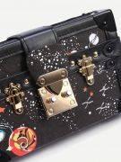 Fashion Space Printing Bag - Black-4