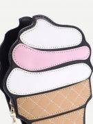 Ice cream shoulder bag with chain-5