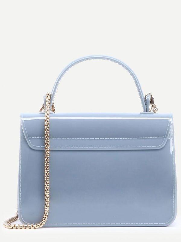 Bag with fridge lock and chain