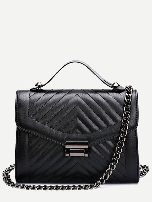 Black Top Secret Bag