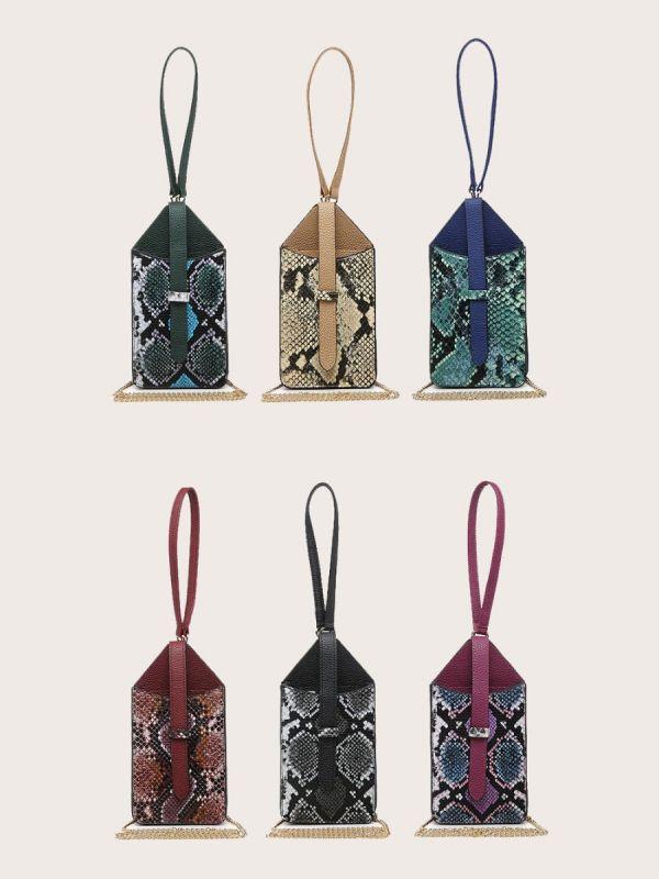 حقيبة جوال جلد ثعبان-8