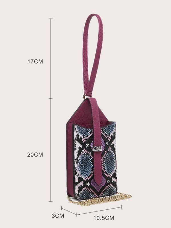 حقيبة جوال جلد ثعبان-9