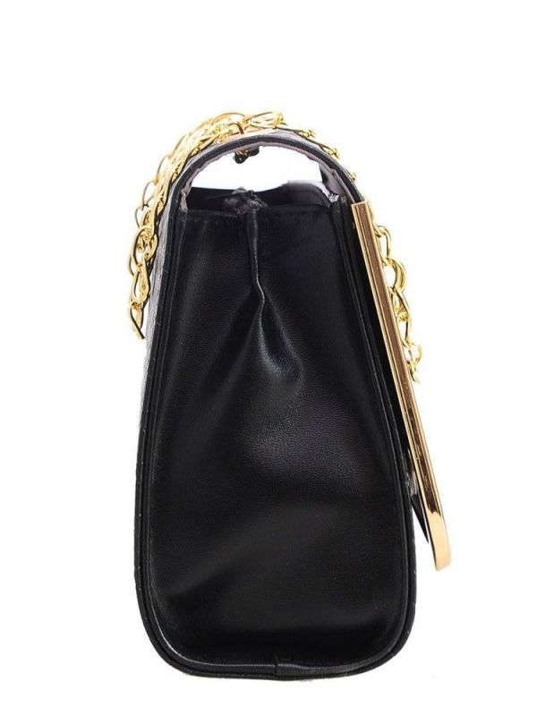 Black Bag with Chain