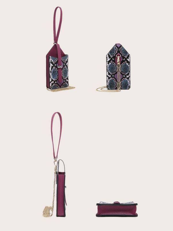 حقيبة جوال جلد ثعبان-10