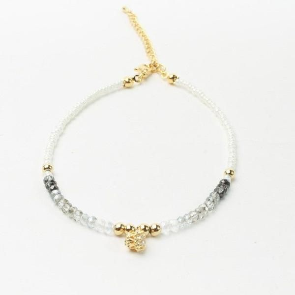 Turkish crystal anklet