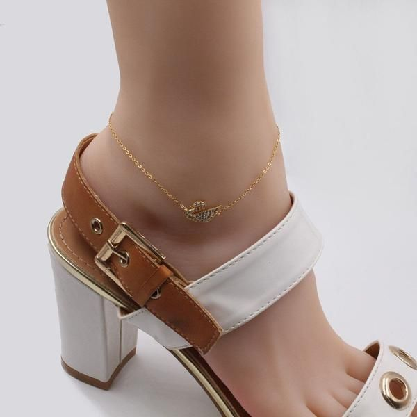 Anklet and Swarovski