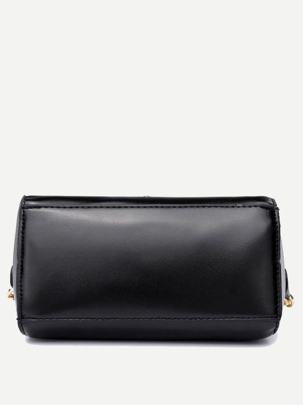 Black indigo bag
