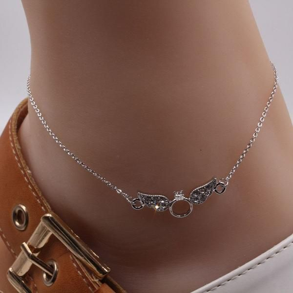 Anklet is a small crystal wing