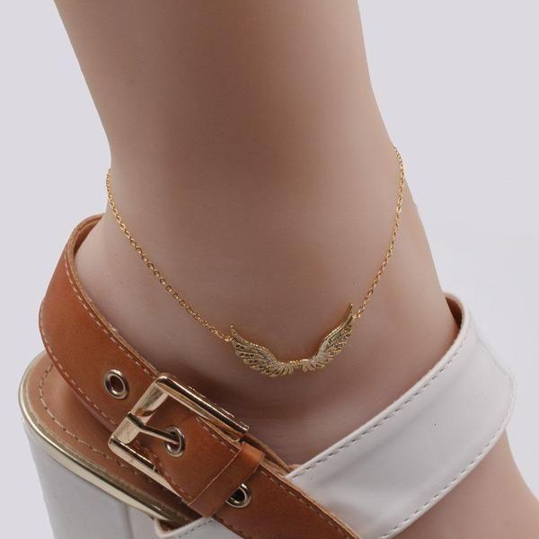 Tissue anklets