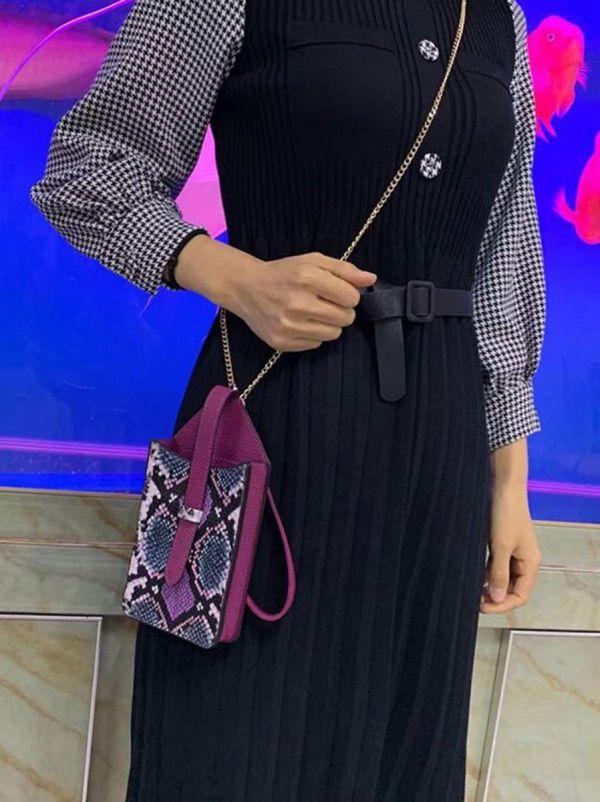 حقيبة جوال جلد ثعبان-12