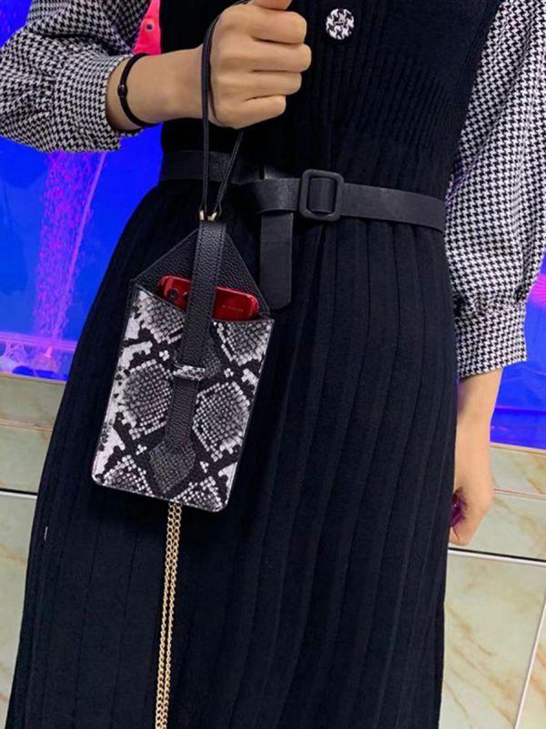 حقيبة جوال جلد ثعبان-13