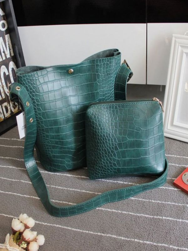 Large bag with a long belt