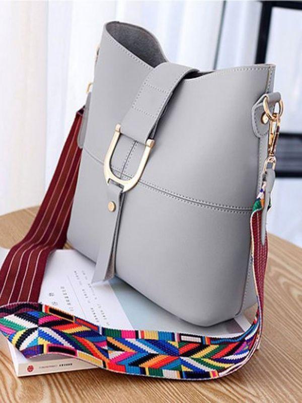 Shoulder bag inside a small bag
