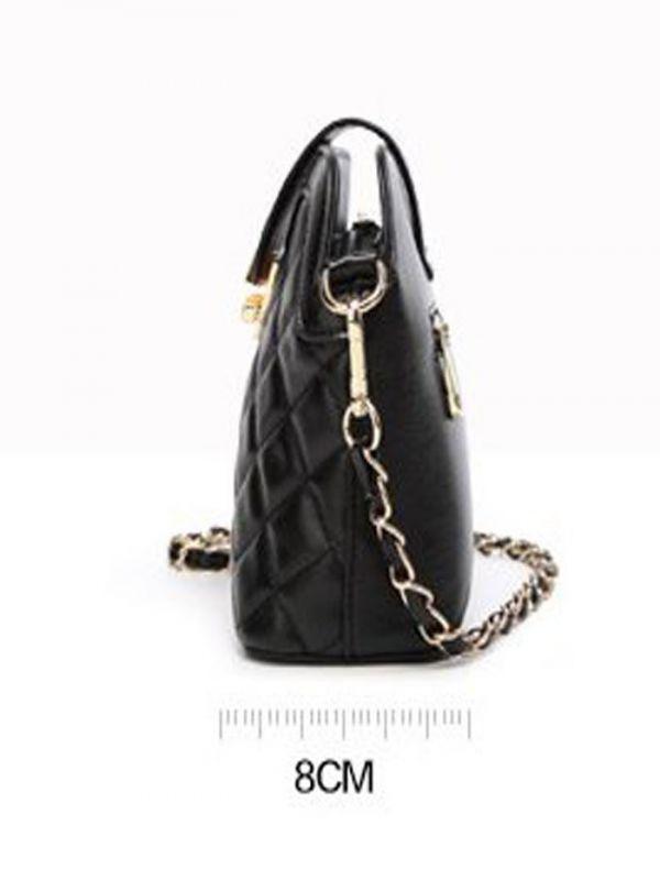 A small black bag