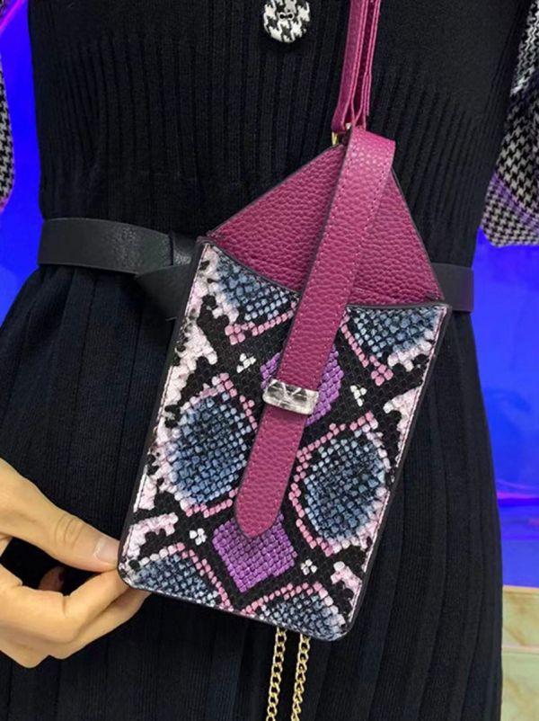 حقيبة جوال جلد ثعبان-14