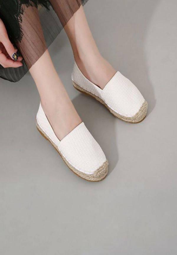 Stylish canvas shoes