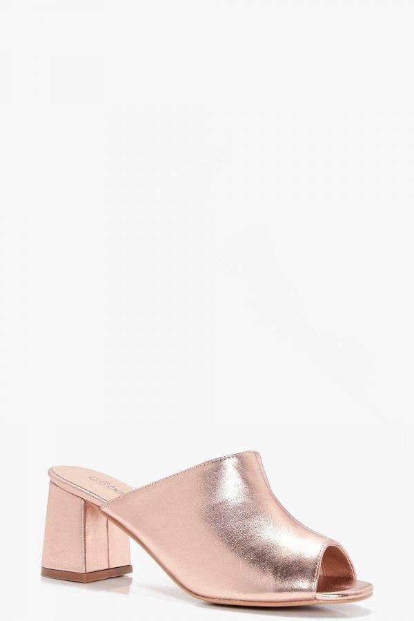 حذاء كعب مكعب-1