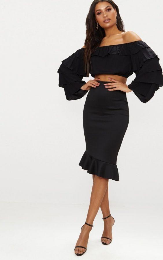 تنورة سوداء