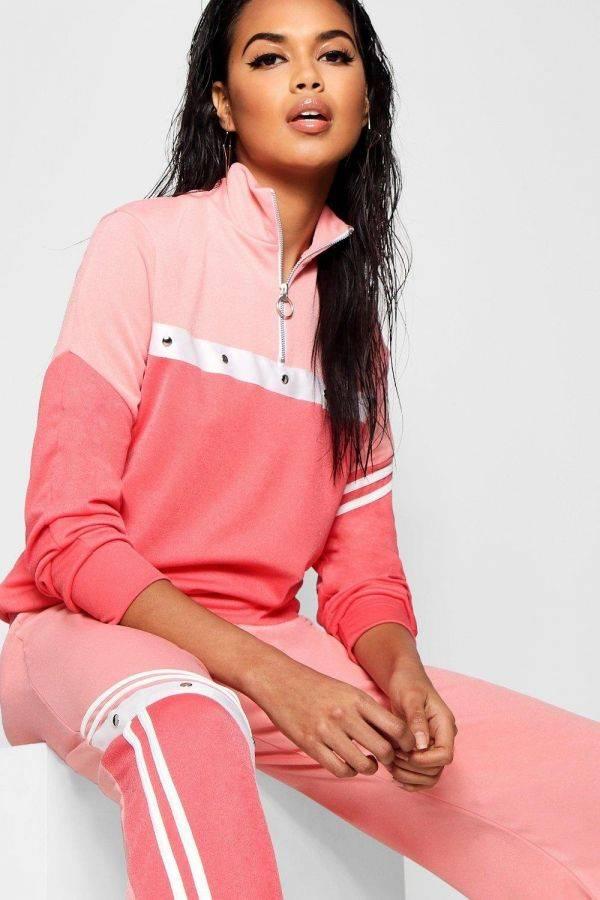 Pink sport jacket